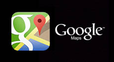 Google Maps logo in Studio Ninja