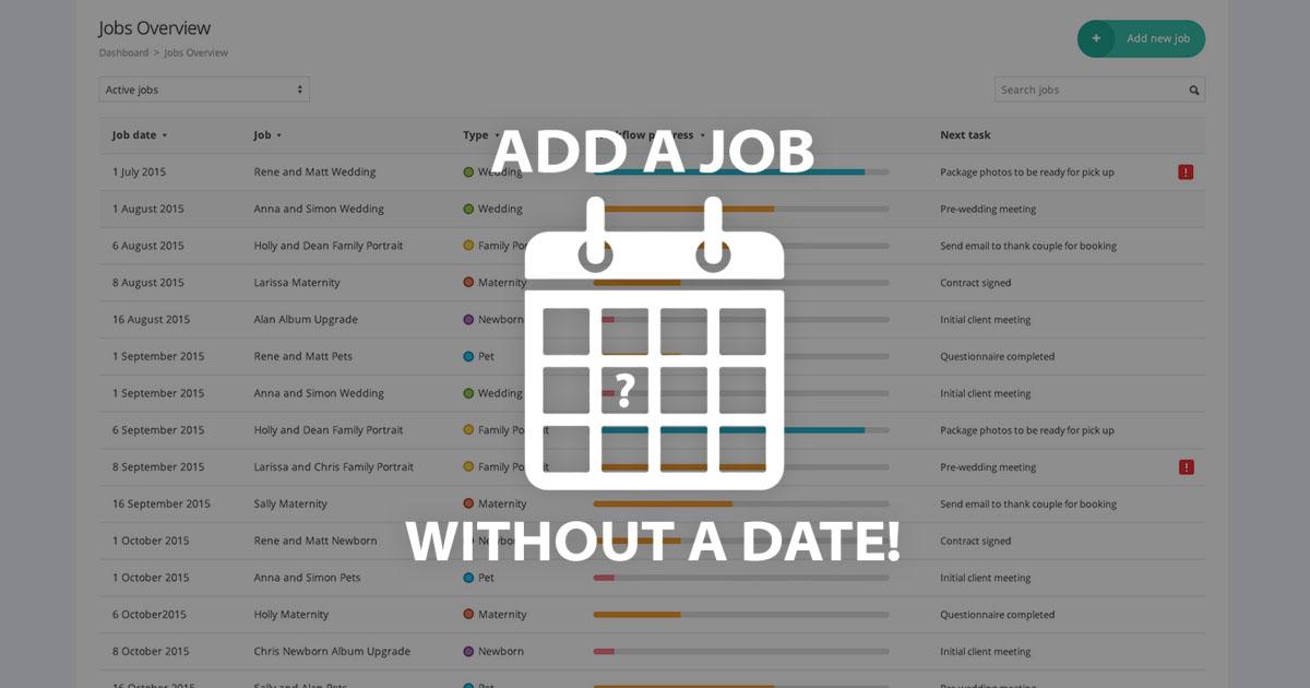 dating no job